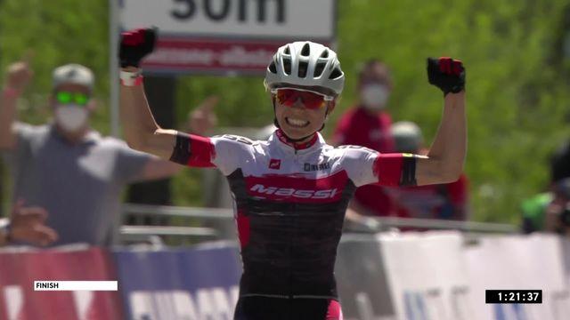 Albstadt (GER), cross-country dames: victoire de la Tricolore Lecomte [RTS]