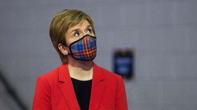 Confortée par sa nette la victoire aux élections, la Première ministre Nicola Sturgeon veut organiser un nouveau référendum d'indépendance. [EPA/Keystone - ROBERT PERRY]