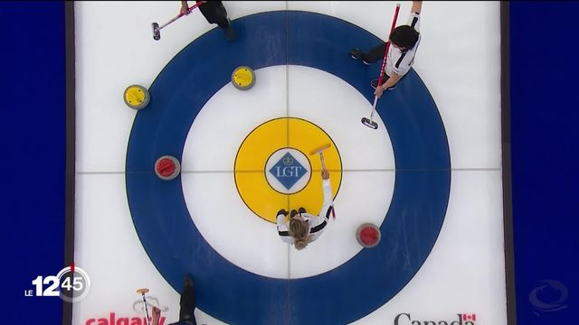 Curling: les Suissesses proches du sacre. [RTS]