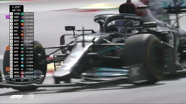 GP d'Espagne (#4): victoire d'Hamilton (GBR) devant Verstappen (NED) 2e et Bottas (FIN) 3e [RTS]