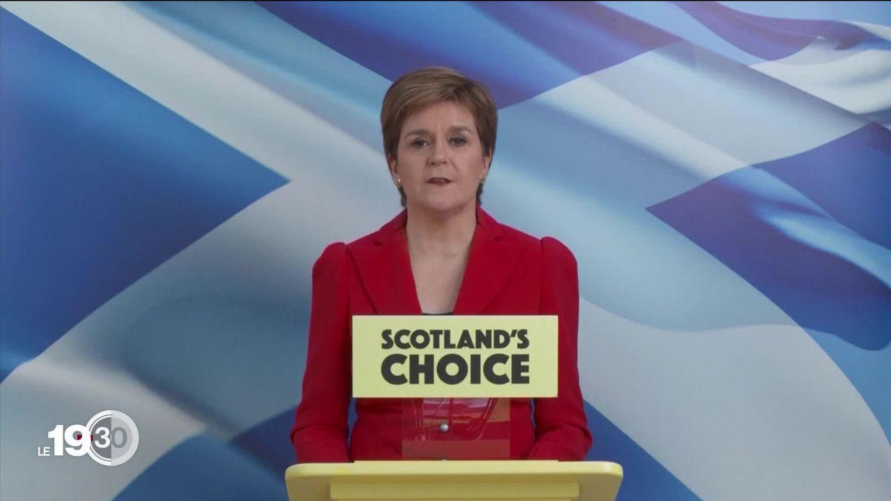 L'Ecosse plébiscite dans les urnes la voie de l'indépendance. [RTS]