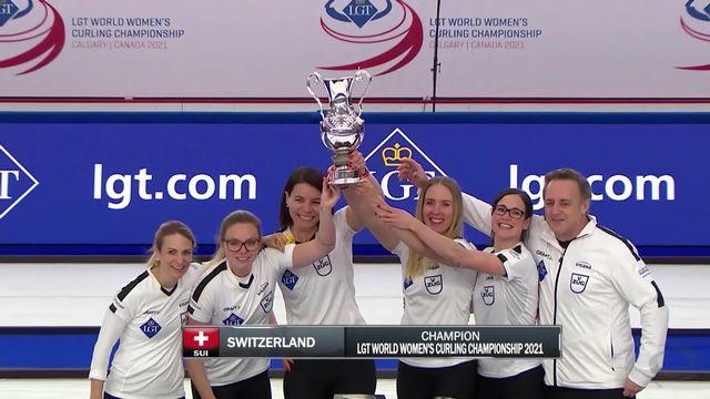 Calgary (CAN), finale dames: Russie – Suisse (2-4): les Suissesses gardent leur titre mondial ! [RTS]