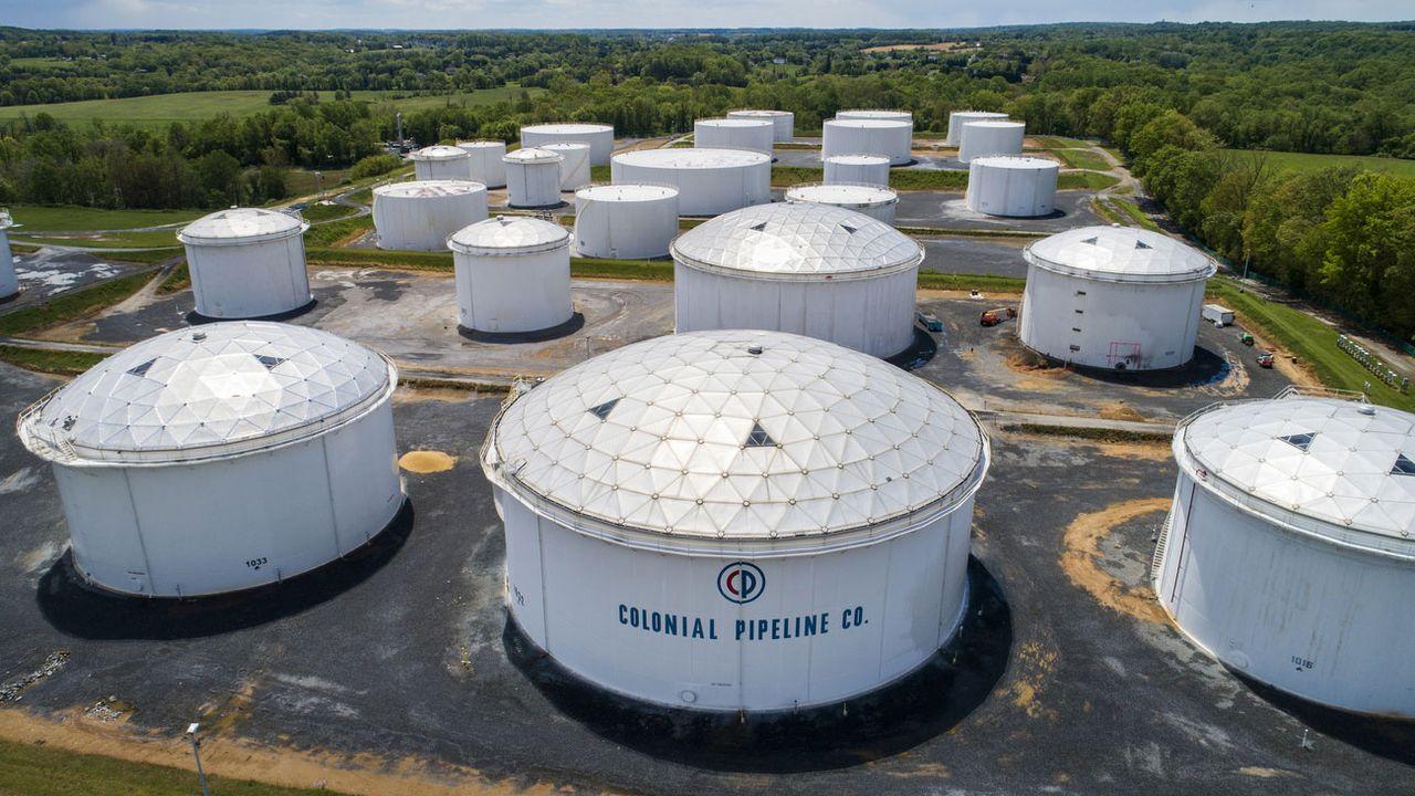 Colonial Pipeline, l'un des plus grands opérateurs d'oléoducs américains. [Jim Lo Scalzo - EPA/Keystone]