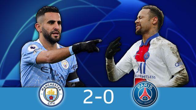 1-2 retour, Man.City - PSG (2-0): Manchester City tient sa première finale [RTS]