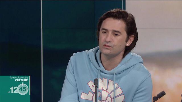 Rendez-vous culture: l'acteur et réalisateur français Nicolas Maury [RTS]