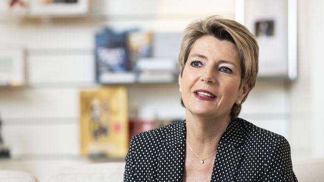 La conseillère fédérale Karin Keller-Sutter. [Alessandro della Valle - Keystone]
