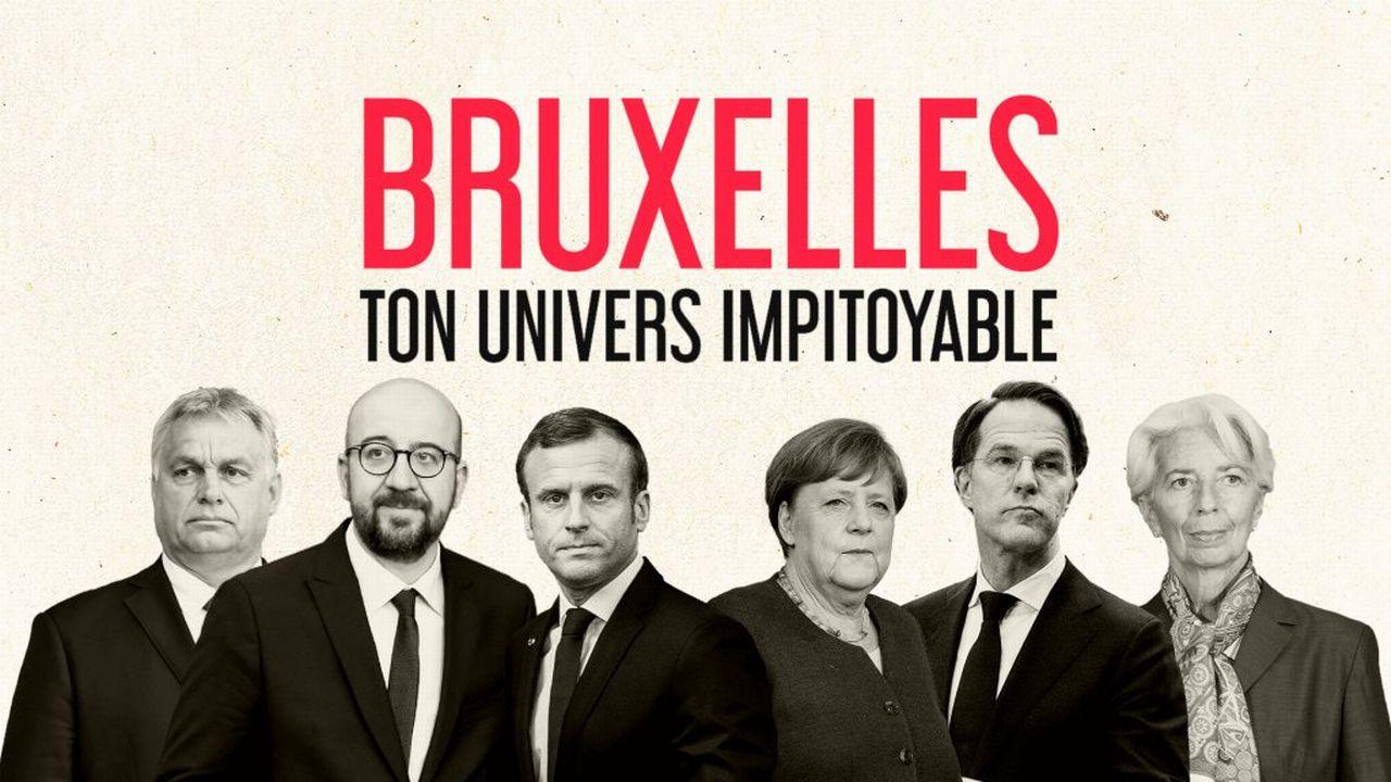"""Affiche de """"Bruxelles, ton univers impitoyable"""" réalisé par Yann-Antony Noghès."""