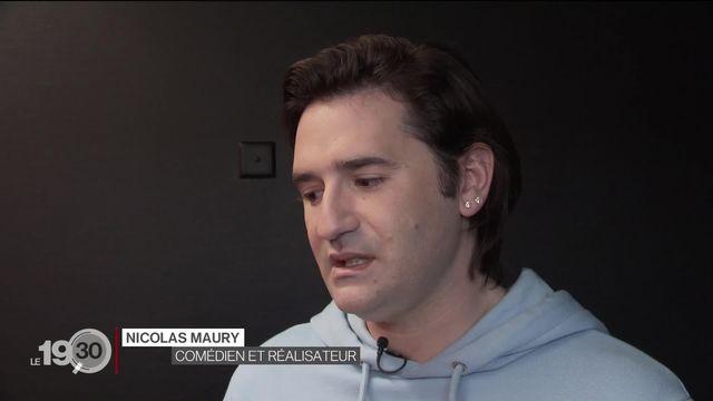"""Révélé dans la série """"Dix pour cent"""", l'acteur Français Nicolas Maury signe son premier long-métrage """"Garçon Chiffon"""". [RTS]"""