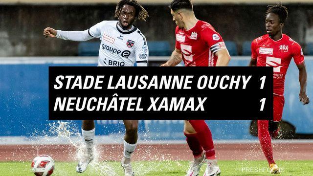Challenge League, 34e journée: Stade Lausanne Ouchy - Xamax 1-1 [Pascal Muller - Freshfocus]
