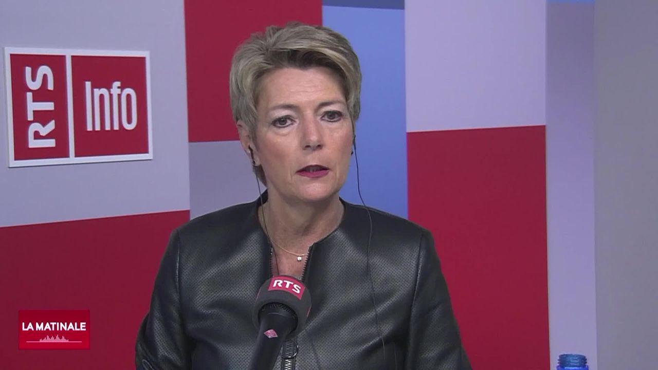 L'invitée de La Matinale (vidéo) - Karin Keller-Sutter, conseillère fédérale [RTS]