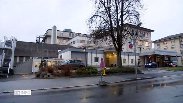 L'ancien hôpital du Samaritain à Vevey. [RTS]