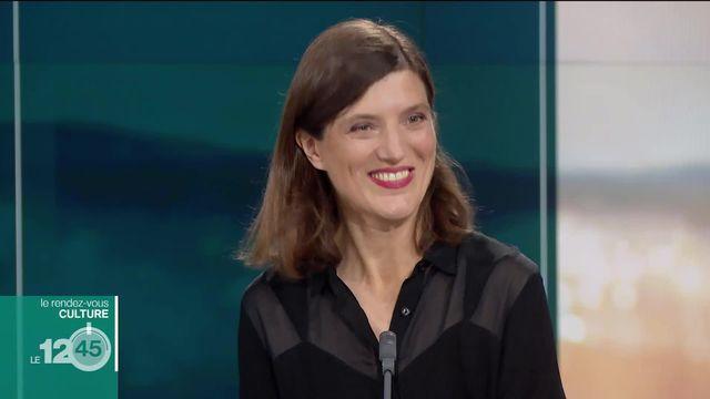 """L'invitée culture: la metteuse en scène et chorégraphe Gisèle Vienne présente """"L'étang"""", adaptation d'un texte de Robert Walser [RTS]"""