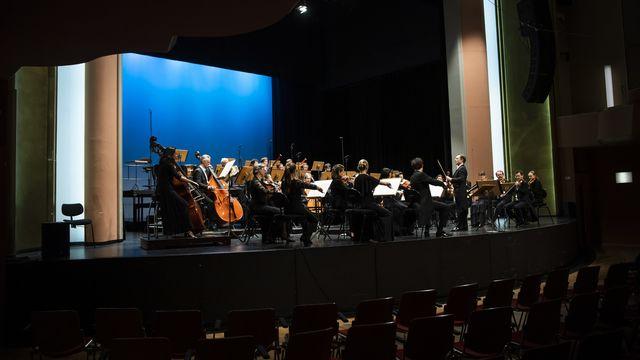 L'Orchestre de chambre de Lausanne veut élargir son public. [Jean-Christophe Bott - Keystone]
