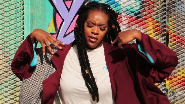 La chanteuse Priscitouf The First.  [www.lafeteduslip.ch - DR]
