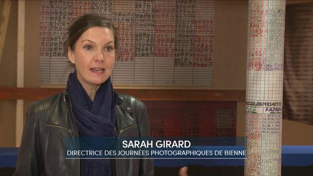 Entretien avec Sarah Girard, directrice des Journées photographiques de Bienne [RTS]