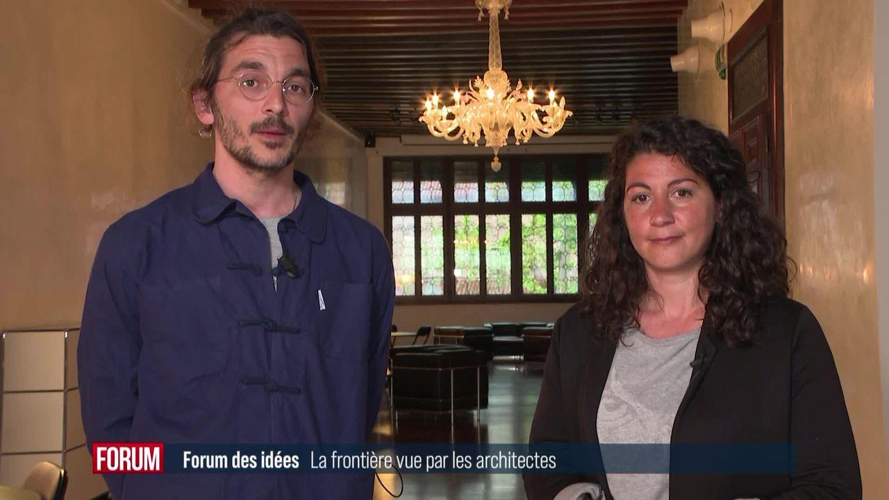 Forum des idées - La frontière vue par les architectes [RTS]