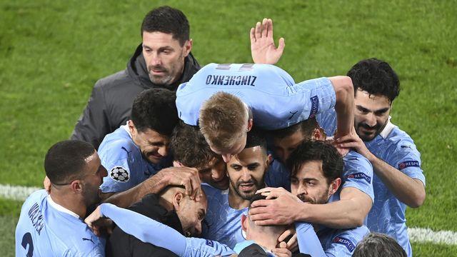 Manchester City a conquis la Premier League une 3e fois en 4 ans. [Federico Gambarini/Pool via AP - Keystone]