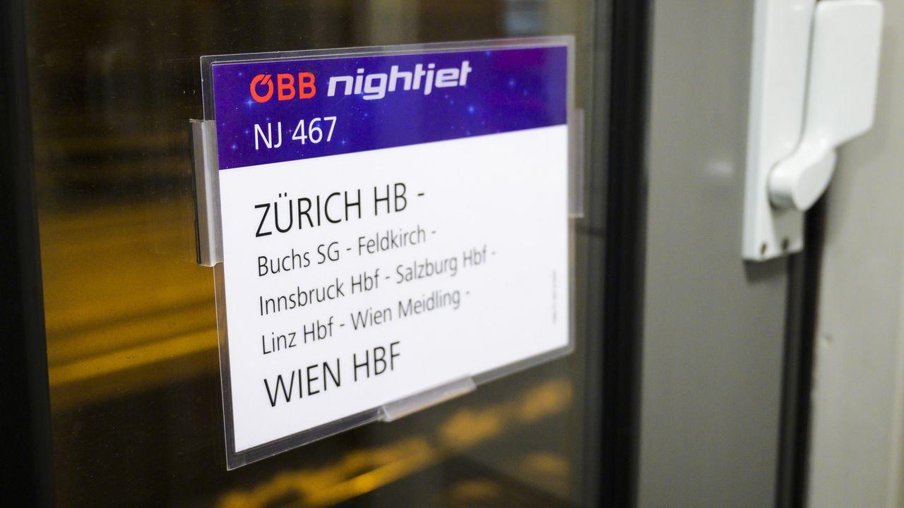 Les voyageurs suisses pourront de nouveau se rendre en train dans les pays voisins d'ici fin mai.  [LEANDRE DUGGAN - KEYSTONE]