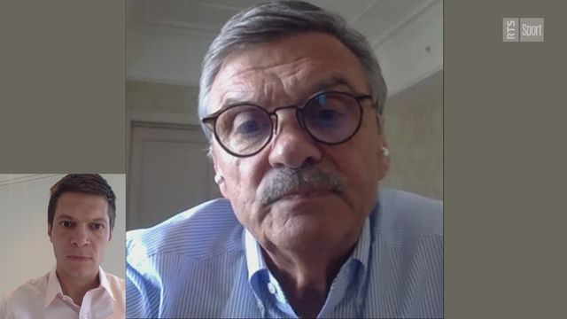 Hockey - Mondial: René Fasel (président IIHF) à l'interview [RTS]