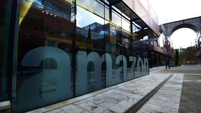 Le siège européen d'Amazon à Luxembourg. [Emmanuel Dunand - AFP]