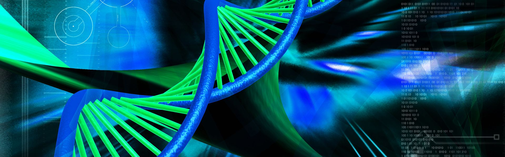Molécule d'ADN. [DepositPhoto]