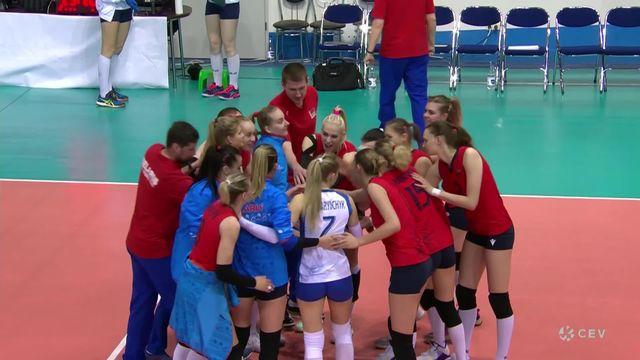Qualifications Euro dames, Suisse - Belarus 1-3: défaite de la Suisse malgré un sursaut dans le troisième set [RTS]