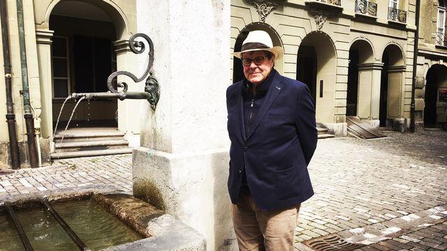 Beat Sterchi dans la vieille ville de Berne [Isabelle Carceles - Isabelle Carceles]