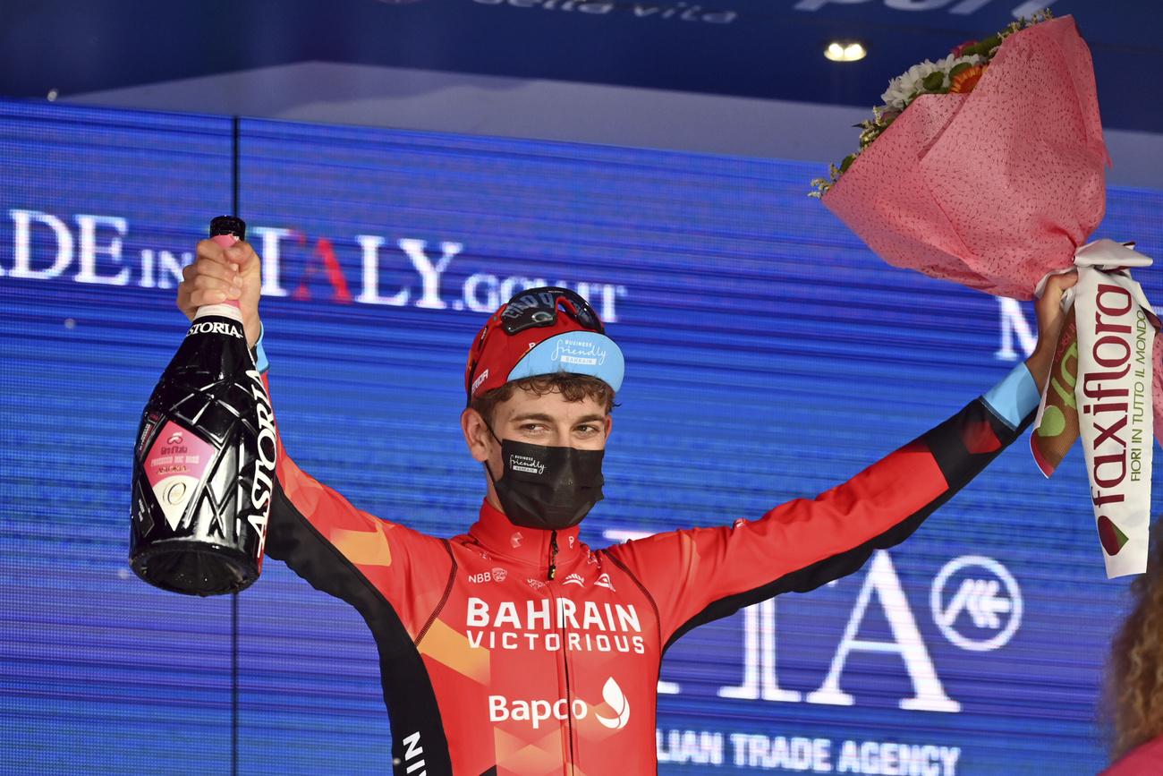 Giro: le Bernois Gino Mäder décroche son 1er succès en World Tour