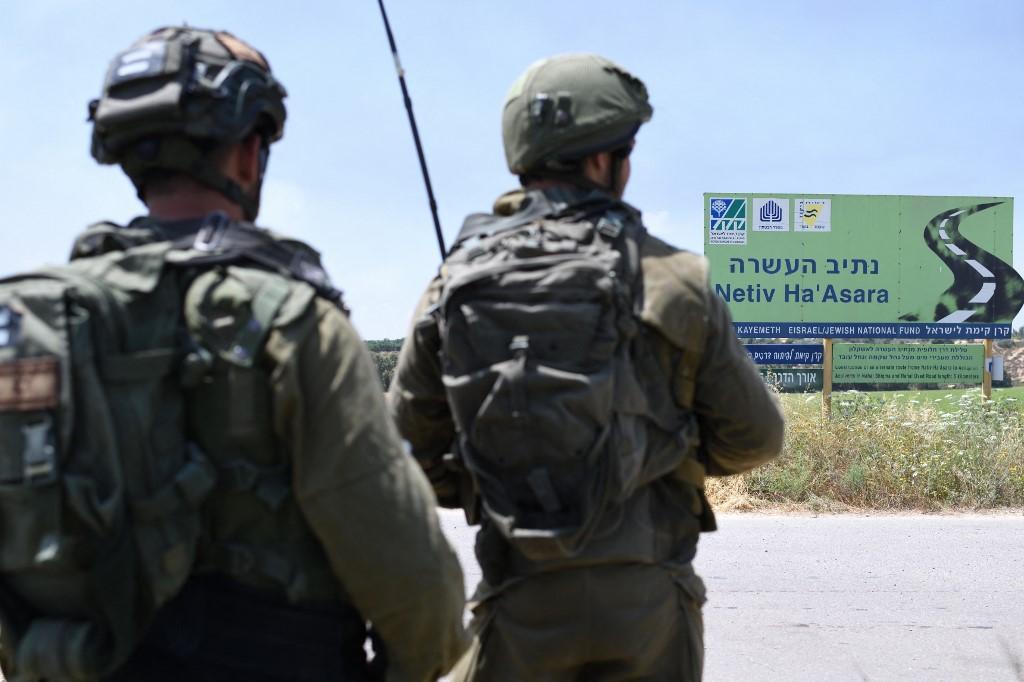 Des soldats israéliens pénètrent dans la bande de Gaza