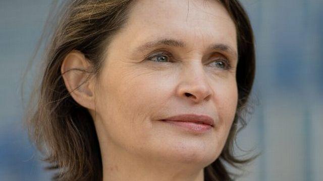 Isabelle Ory, correspondante RTS, en duplex de Bruxelles. [DR - DR]