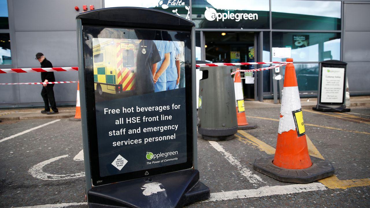 """Le service de santé irlandais est victime d'une """"importante"""" attaque informatique. [Jason Cairnduff - Reuters]"""