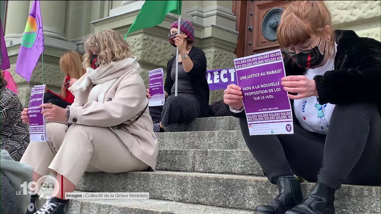 La réforme du code pénal en matière de violences sexuelles ne convainc pas [RTS]