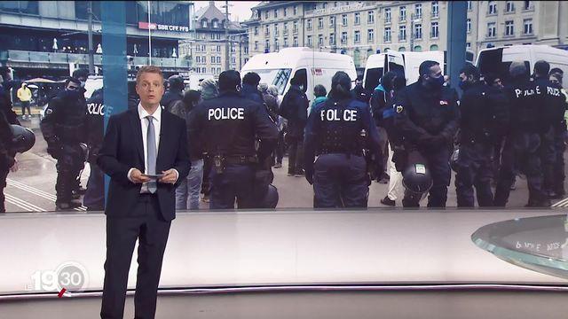 Rouven Gueissaz revient sur les enjeux de la nouvelle loi contre le terrorisme, soumise au vote le 13 juin prochain [RTS]