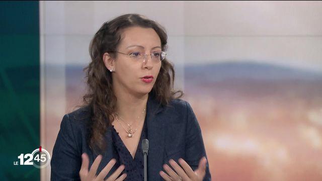 """Aline Jaccottet: """"Ces affrontements représentent un crash test pour Israël"""" [RTS]"""
