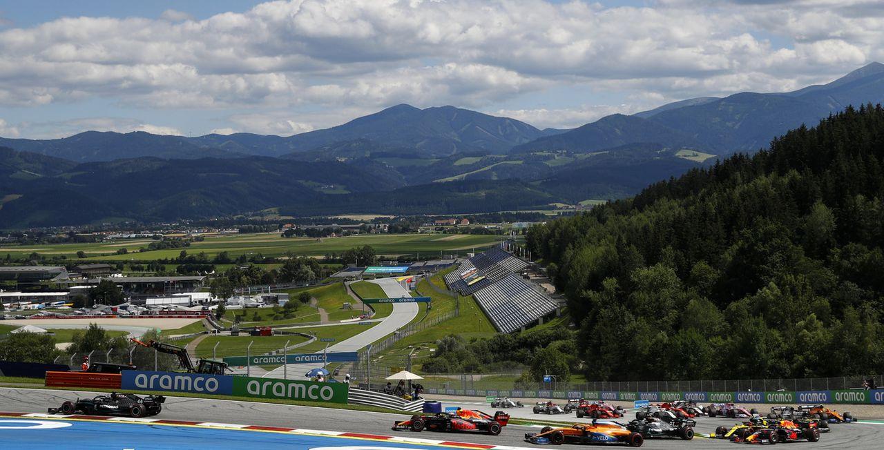 Le circuit Spielberg (Autriche) aura encore droit à deux courses cette saison. [Leonhard Foeger - Keystone]