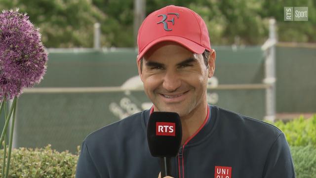 Interview intégrale de Roger Federer avant le Geneva Open
