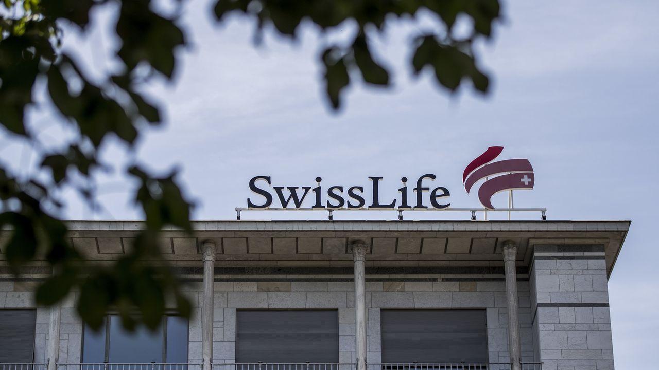 Swiss Life règle un litige aux USA et paie 77 millions de dollars. [Christian Merz - Keystone]