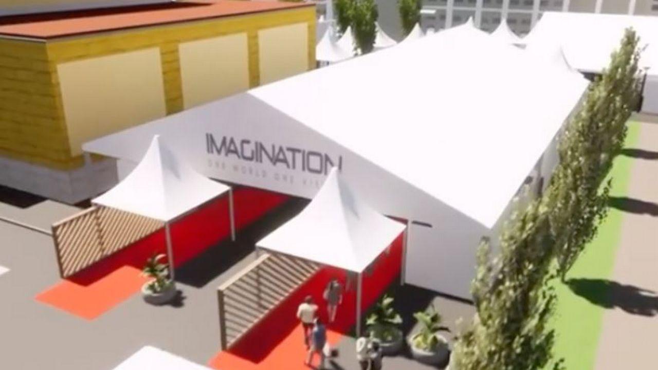 Capture d'écran de la vidéo diffusée par les organisateurs d'Imagination. [www.imagination.swiss/]