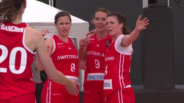 3x3 dames, Suisse – Russie (19-10): les Suissesses s'imposent sans difficulté [RTS]