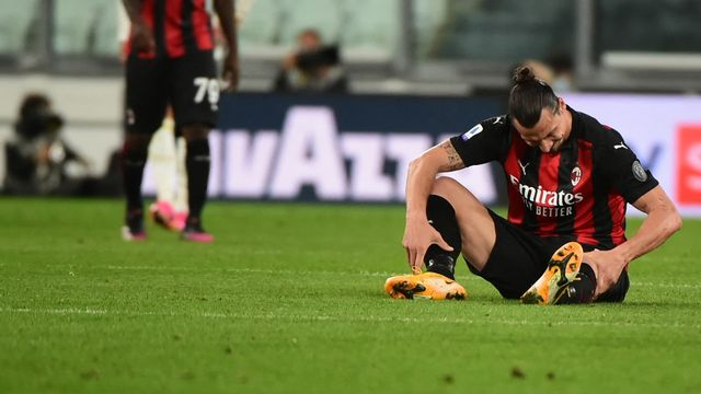 Le Suédois s'était blessé au genou gauche le 9 mai contre la Juventus. [Pier Marco Tacca - AFP]