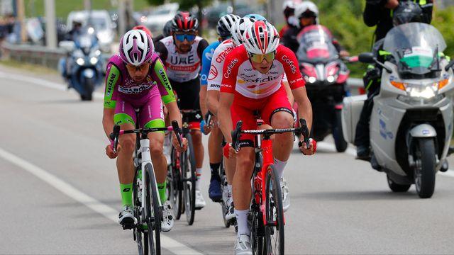 Victor Lafay (Cofidis) a remporté en solitaire la 8e étape du Tour d'Italie. [AFP]
