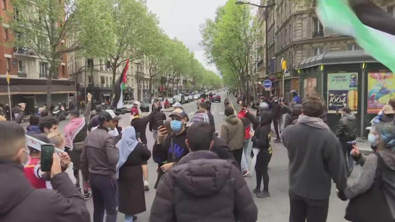 Manifestations Paris [RTS]