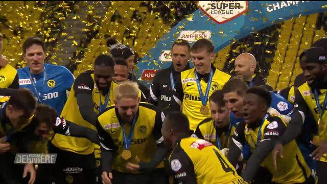 35e journée, Young Boys – Lucerne (5-2) : les Bernois s'imposent et soulèvent le trophée [RTS]