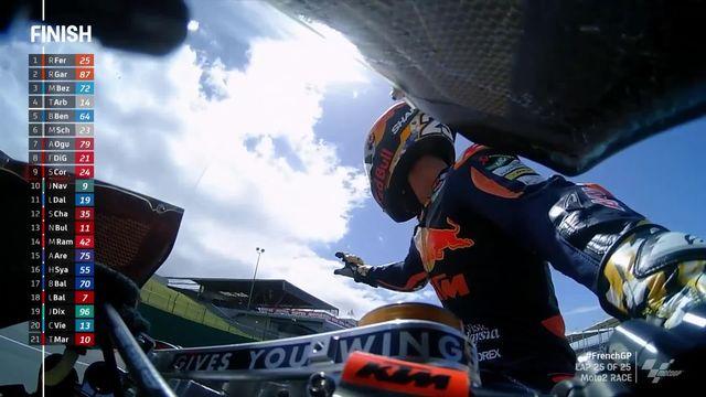 GP du Mans (#5), Moto2: victoire de Fernandez (ESP), Luthi (SUI) chute... [RTS]