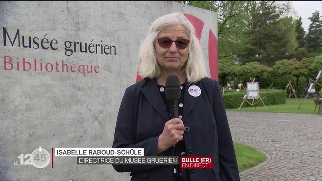 Journée internationale des musées : rencontre avec Isabelle Raboud-Schüle, présidente de l'Association des musées suisses et directrice du Musée gruérien [RTS]
