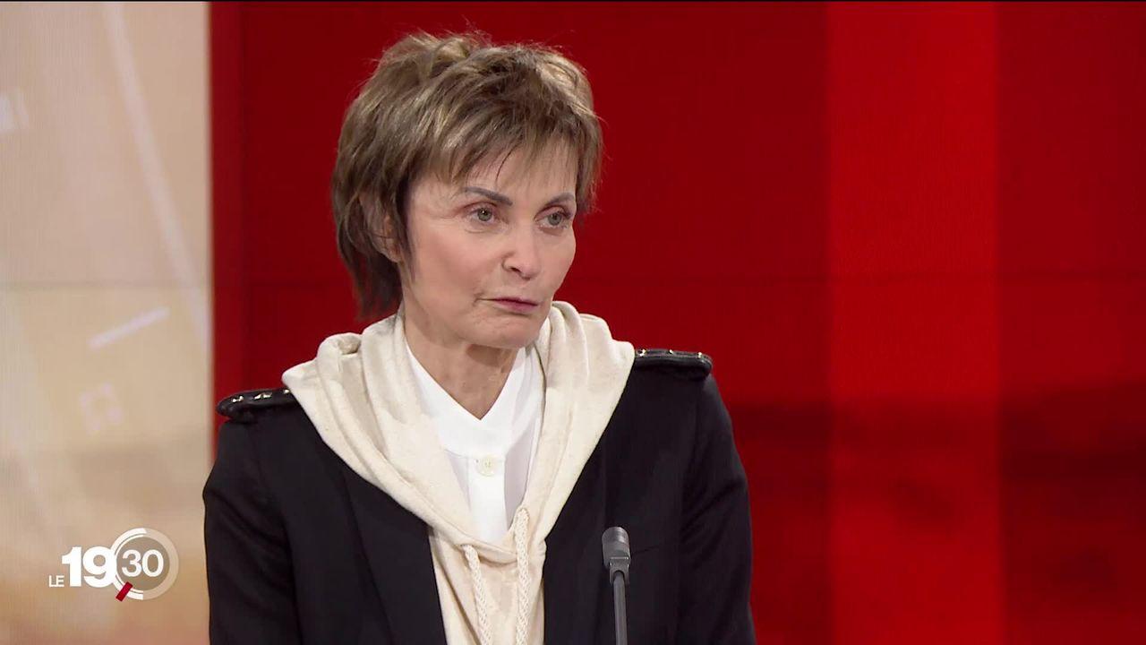 Violences israélo-palestiniennes: la réaction de Micheline Calmy-Rey [RTS]