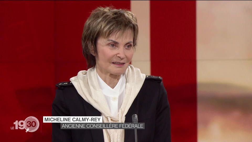 Micheline Calmy-Rey, ex-ministre des Affaires étrangères, revient sur l'initiative de Genève [RTS]