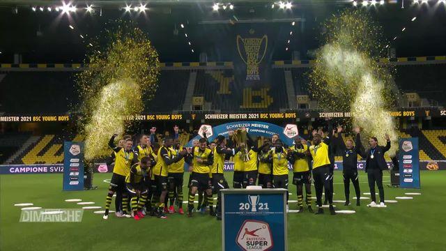 Football: Super League, YB remporte le titre [RTS]