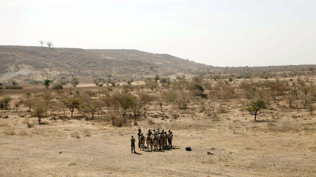 Un exercice militaire des troupes du Burkina Faso, sous la supervision des forces spéciales néerlandaises, à Thies, au Sénégal, le 18 février 2020. [Cheikh A.T Sy - Keystone/AP photo]