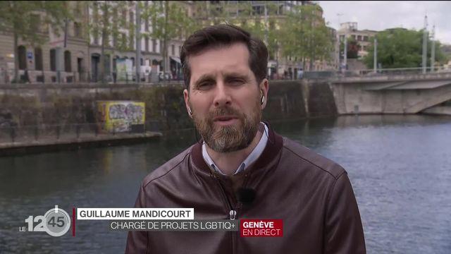Discriminations: interview de Guillaume Mandicourt, chargé de projet LGBTIQ+ à la Ville de Genève [RTS]